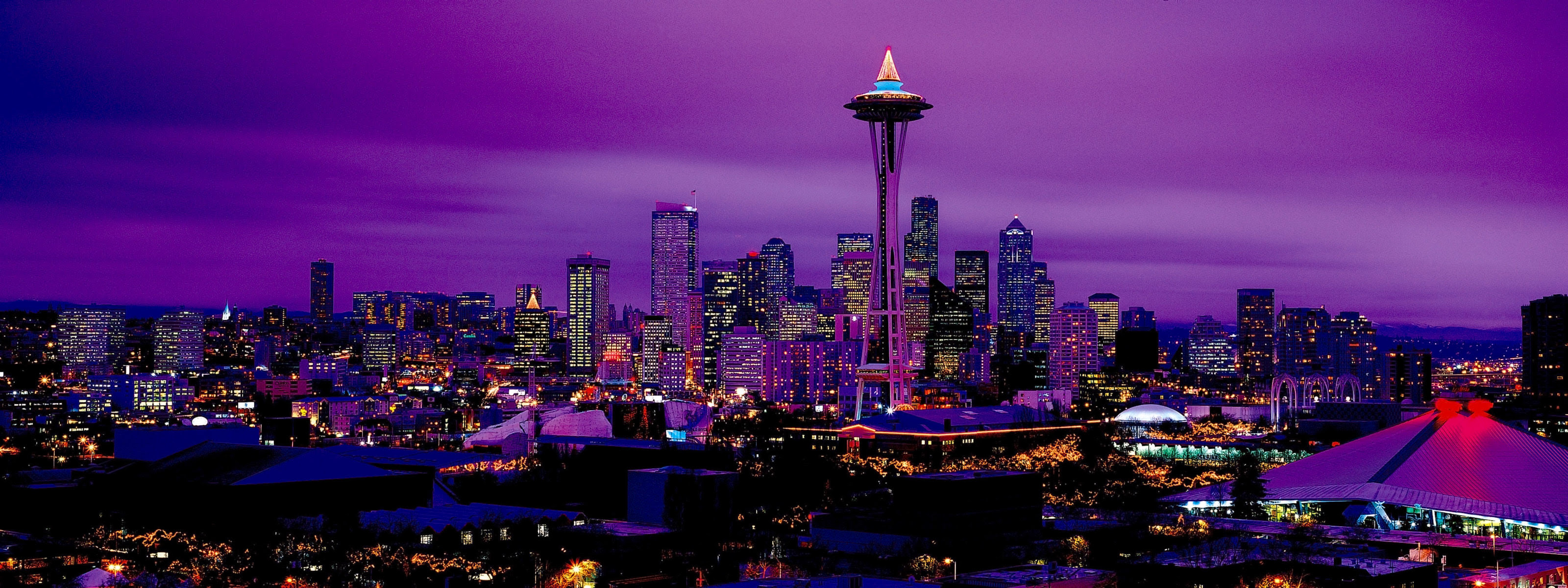 Seattle Wallpaper 3200x1200 65843