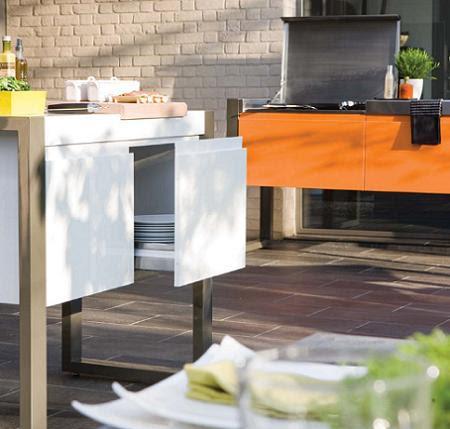 Materiales De Construcción Ecológicos Cocinas En Terrazas