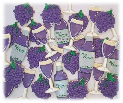 Custom decorated cookies provided by Creative Cake Co.