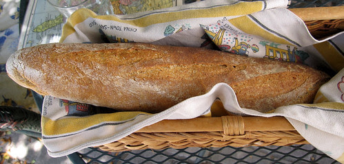Finished batard loaf