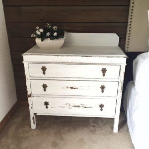 Milk Paint Dresser Makeover