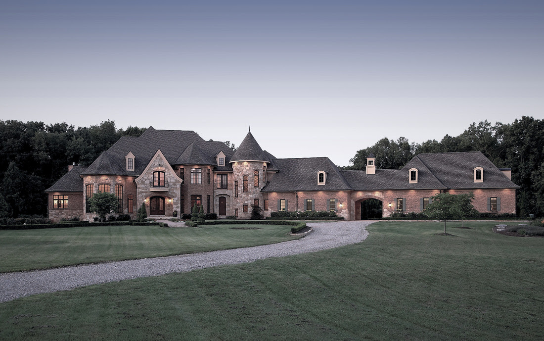 French Country Estate Vanbrouck Associates Vanbrouck