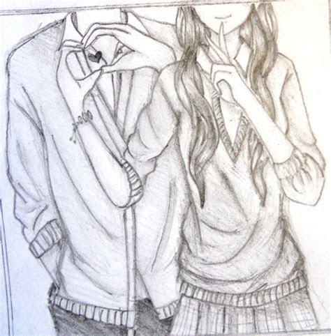 anime couple hugging drawing  getdrawingscom