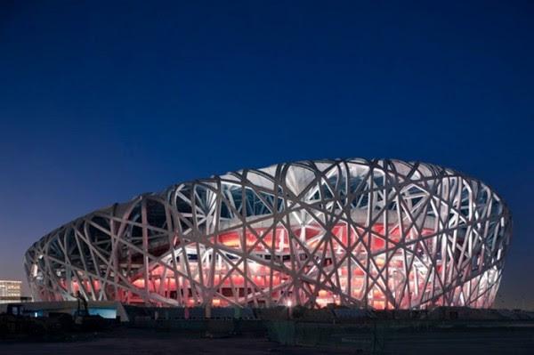 birdsnest 600x399 14 Futuristic Building Designs in China