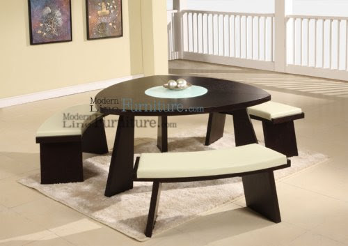 Triangle Dining Room Set