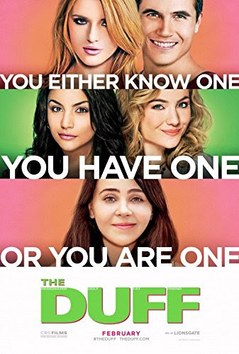 "THE DUFF - 11""x17"" Original Promo Movie Poster 2015 Mae Whitman"
