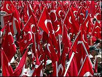 Manifestación en Estambul