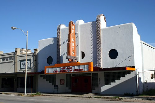 street view of heights theater