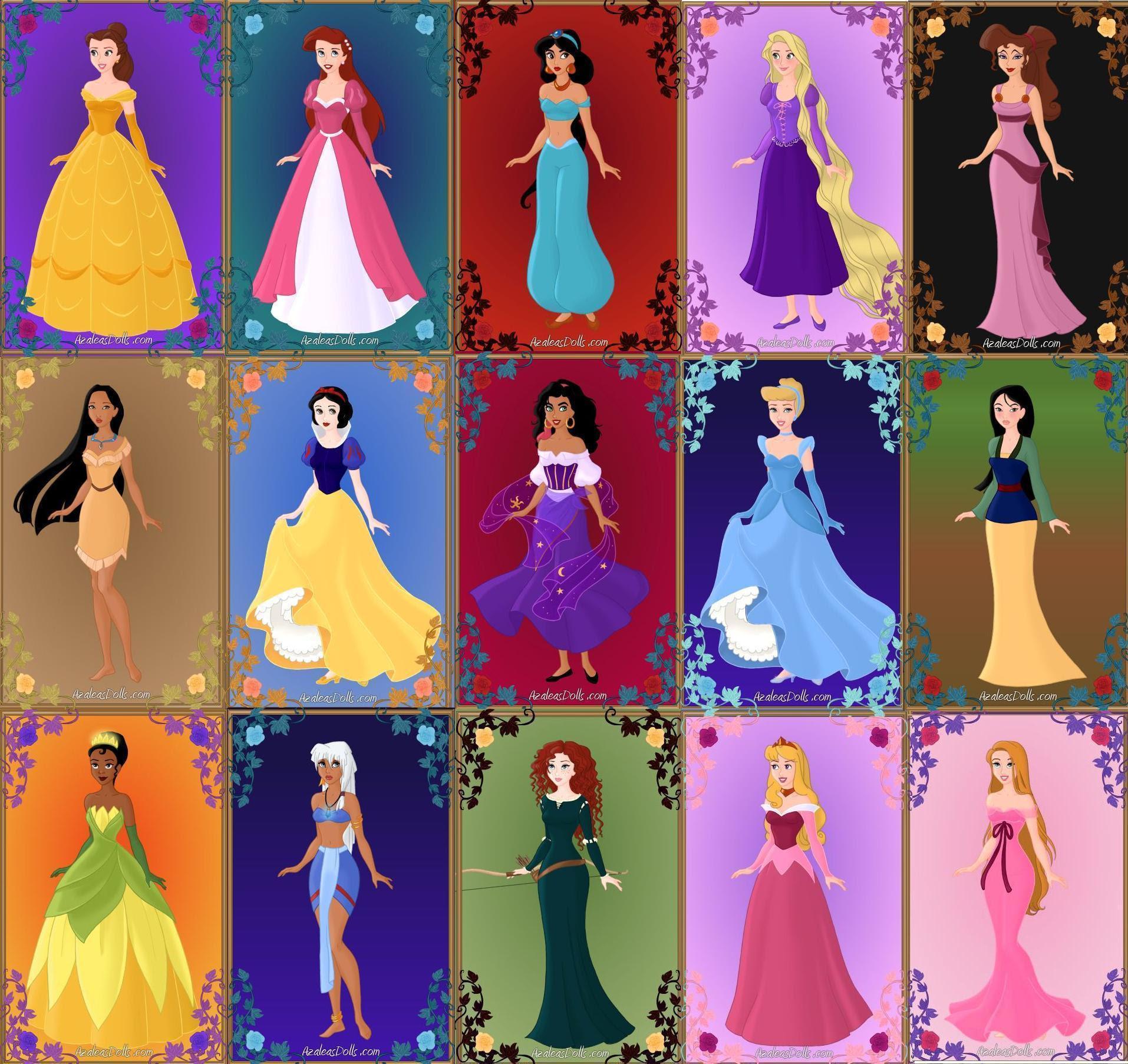 Princesses - Disney Princess Photo (36491310) - Fanpop