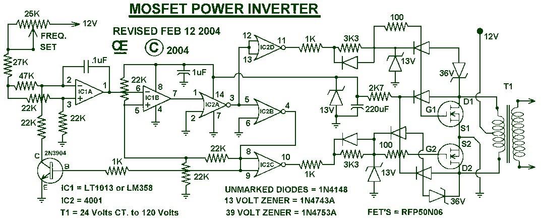 Diagram For Everything  Inverter Circuit Diagram 1000w Pdf