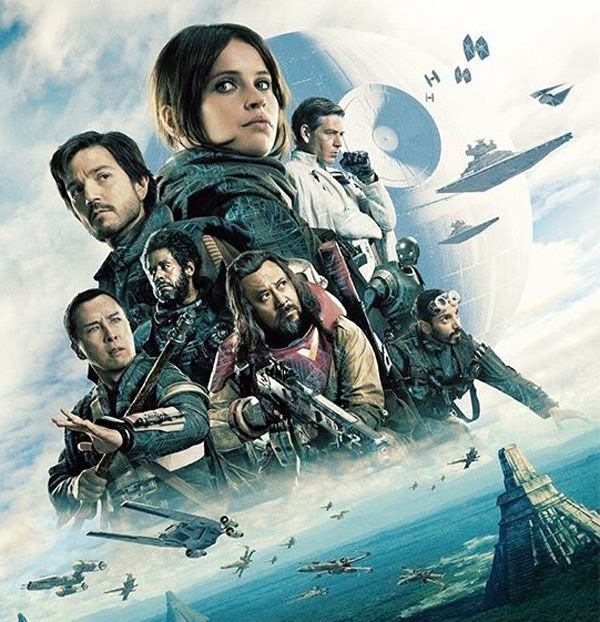 Artwork for ROGUE ONE: A STAR WARS STORY.