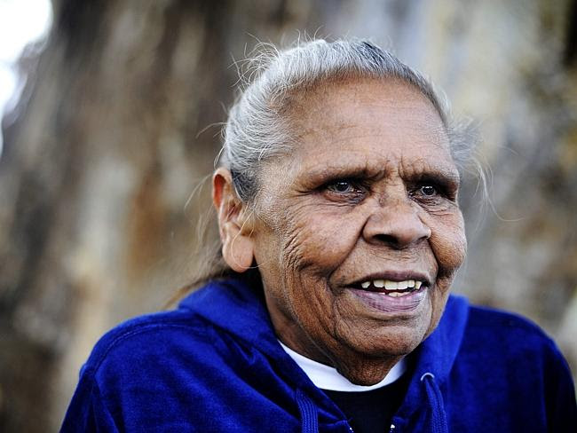 Eunice Wright was one of the Aboriginal Elders chosen to accept the apology for the stole