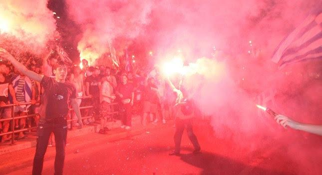 «Κάηκε» η Νυρεμβέργη απ' τους Έλληνες! (video)