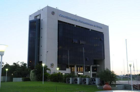La CONMEBOL, sede del torneo