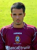 Daniele Martinetti, oggetto del desiderio di molti club oltre che dell'hellas Verona, oggi nell'Arezzo