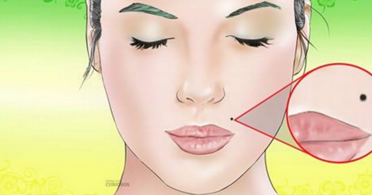 What Does It Mean To Have A Mole Near Lips Its So Interesting