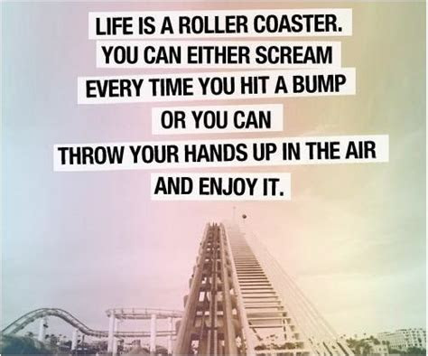 Roller Coaster Ride Quotes About Life