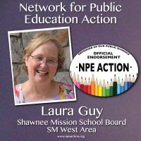 Laura Guy for Shawnee Mission School District Board of Education