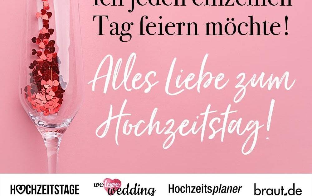 Gratulation Zum 1 Jährigen Hochzeitstag - 1 Hochzeitstag