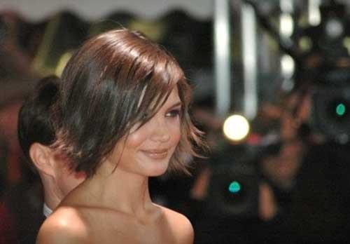 Gute Katie Holmes Bob Haarschnitte Frisuren Trend