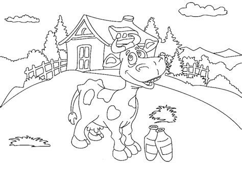 farm animal coloring pages coloringpages