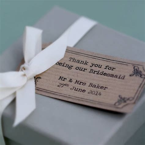 13 Awesome Wedding Gift Ideas for Bridesmaids   CHWV
