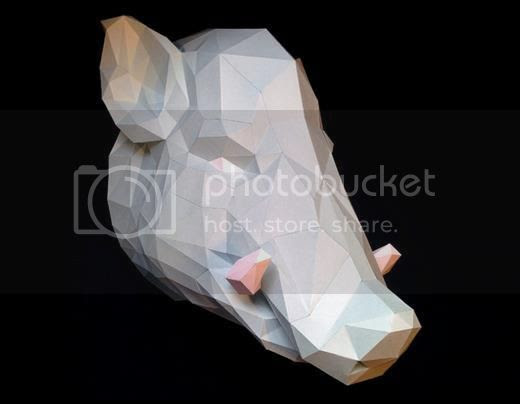 photo boar head papercraft by gedelgo via papermau 02_zps0615g6xi.jpg