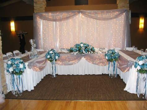 Reception head table   Wedding Venue Decoration   Head
