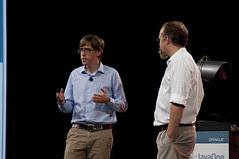 "Rob Benson and Adam Messinger, JavaOne 2011 San Francisco ""Java Strategey Keynote"""