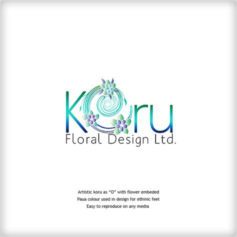 logo design nz blog logo designs inspired  flowers