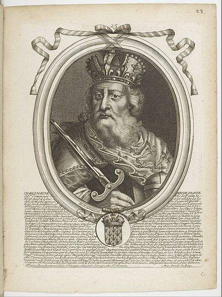 Charlemagne by Nicolas de Larmessin