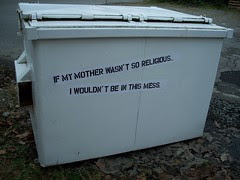if my mother wasn't so religious...