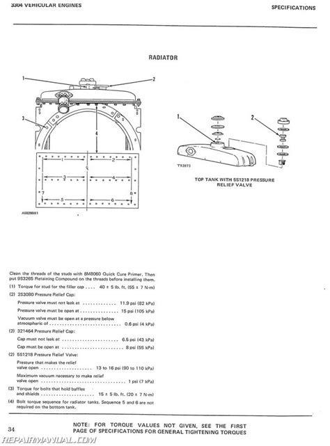 Caterpillar D4D Crawler Service Manual