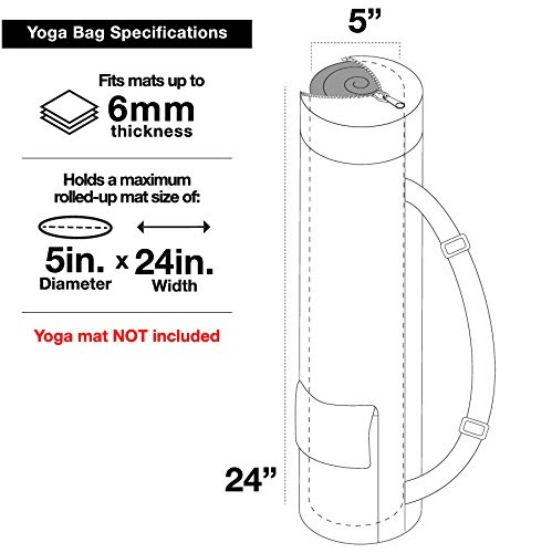 Yoga Mat Dimensions Rolled Up