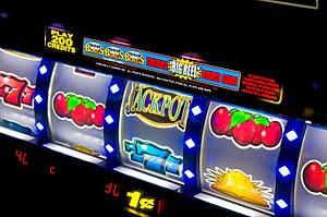 Français : Slot machines (las vegas)
