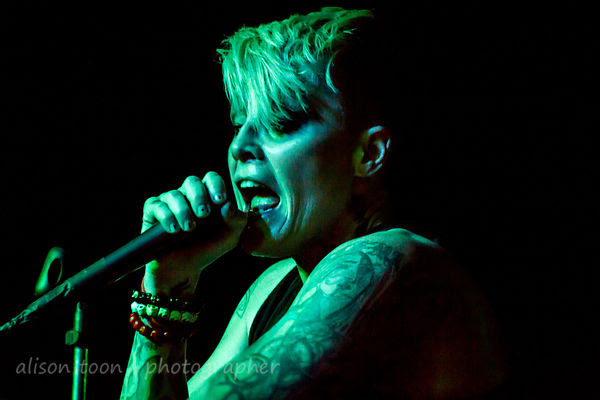 Otep, Sacramento, live May 2014