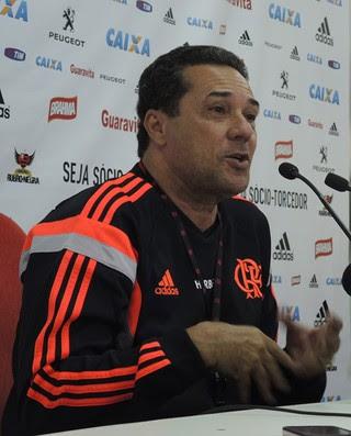 Luxemburgo Coletiva Flamengo (Foto: Cahê Mota)