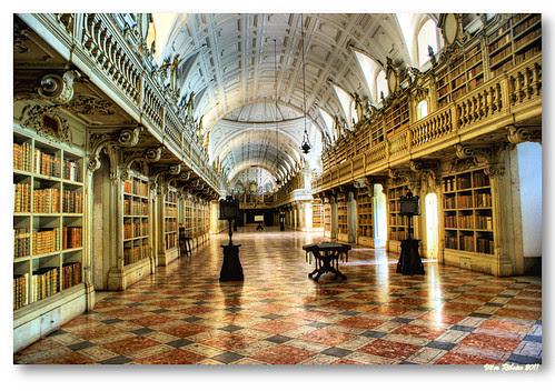Biblioteca do Convento de Mafra by VRfoto