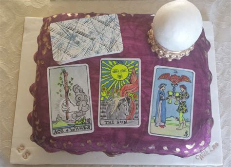 Tarot card cake   Made By :The Cake Ace   Pinterest