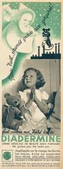 (Petite pub) Diadermine Marie-Claire n°95 - 23 décembre 1938