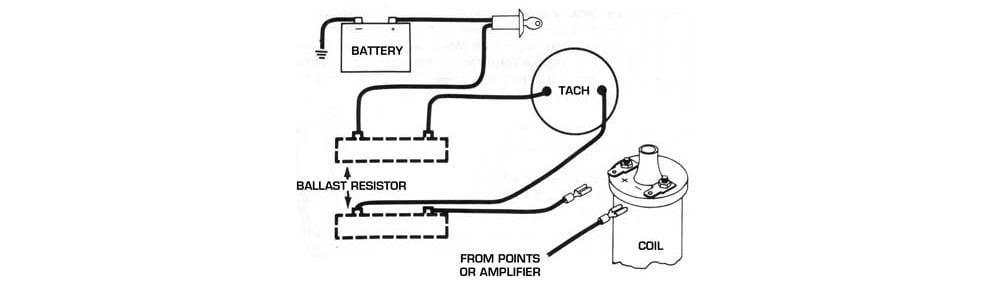Ballast Resistor 12 Volt Coil
