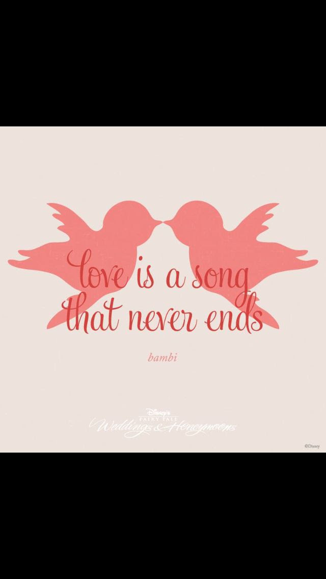 Disney wedding love quote