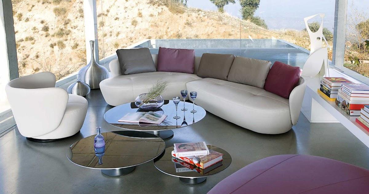 Les concepteurs artistiques canapes cuir roche bobois - Canape cuir rouge roche bobois ...