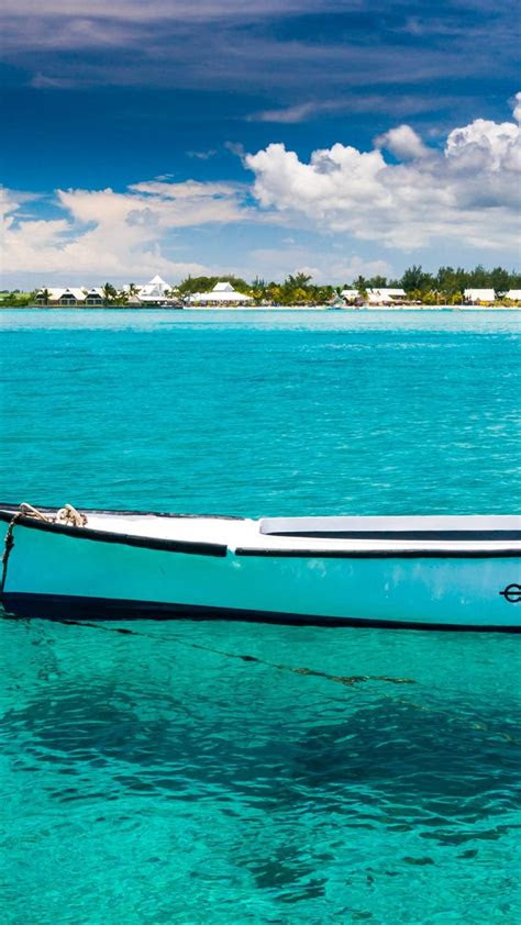 nature boats mauritius wallpaper