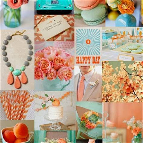 Best 25  Teal Peach Wedding ideas on Pinterest   Coral