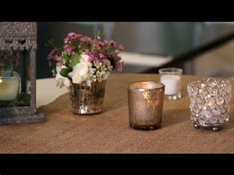 Votive Candle Wedding Decorations : Wedding Planning   YouTube