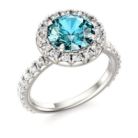 Topaz Engagement Ring #topaz #December #birthstone