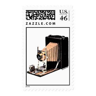 Antique Camera stamp