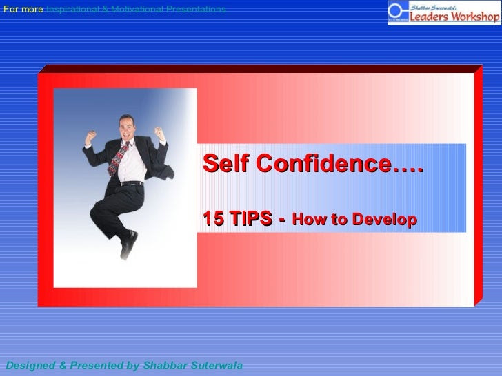 Essay On Self Confidence In Tamil