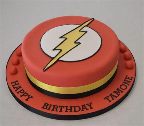 Flash Logo Cake   Boys Birthday Cakes   Celebration Cakes